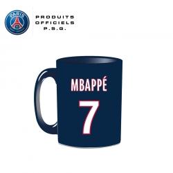 Mug Mbappe navy Officiel PSG