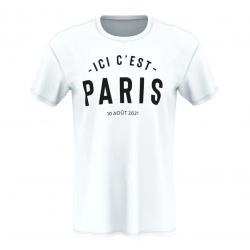 T-Shirt Messi Ici C'est Paris
