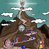 Un dessin pour mille phrases. Bravo Tagaz et allez Paris ! 🔴🔵💥💥💥 . #Paris #parissg #psg #supporters #LdC #championsleague #city #psgcity