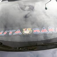 Une simple echarpe vaut mille mots. Merci Paris 🔴🔵👊 . #psg #Paris #parissg #paname #barpsg #putabarca #ldc #championsleague
